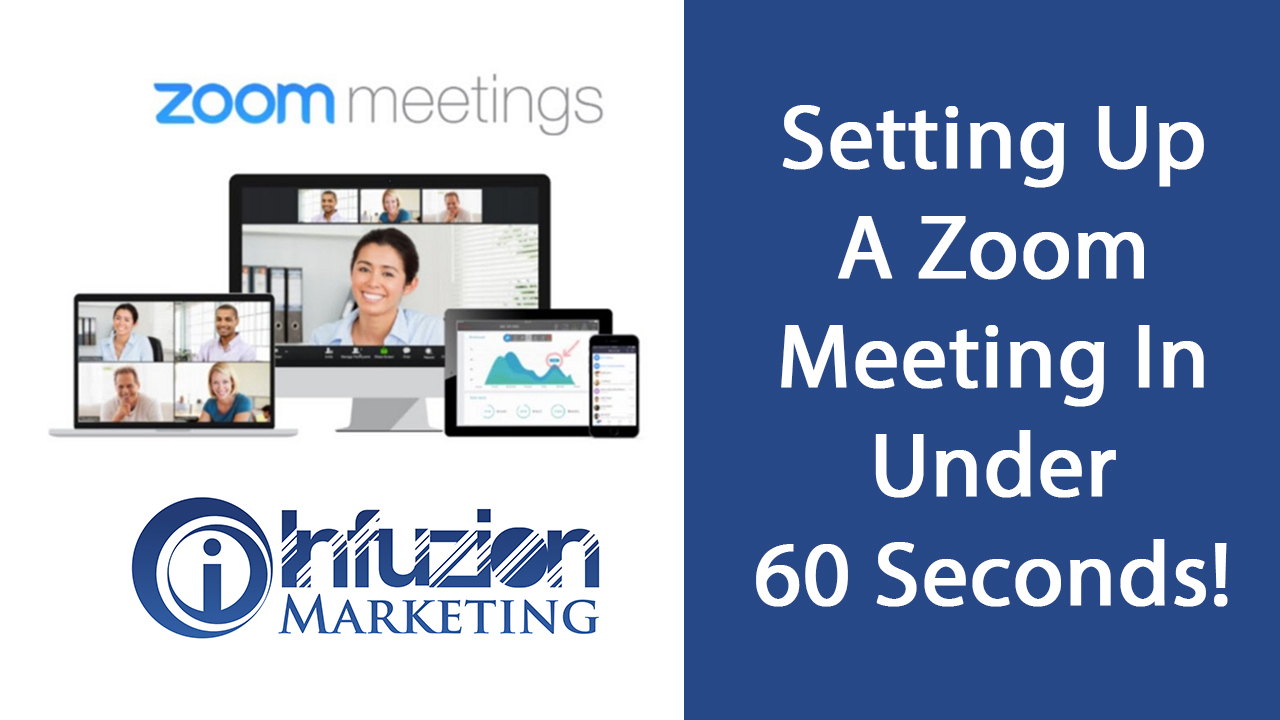 Zoom Meeting In Under 60 Seconds